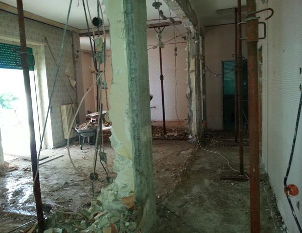 demolizioni interno appartamenti
